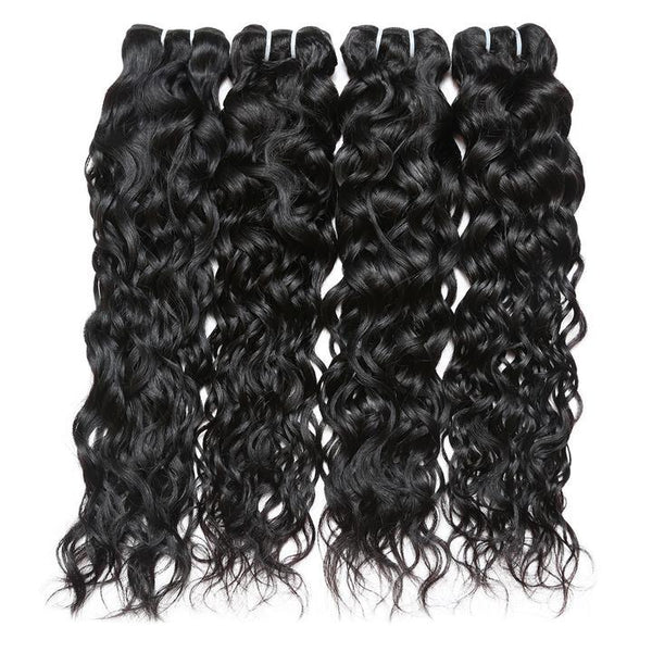 Easy Hair Brazilian Water Wave Virgin Human Hair 4 Bundles - Easy Hair