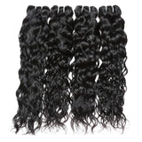 ishow brazilian water wave virgin human hair 4 bundles