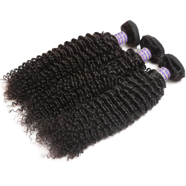 Easy Hair 10A Grade Malaysian Kinky Curly Hair 3 Bundles Unprocessed Virgin Hair - Easy Hair