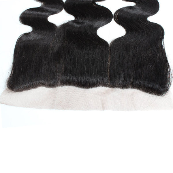 Easy Hair Malaysian Virgin Human Extensions Lace Frontal Body Wave 13x4 Closure - Easy Hair