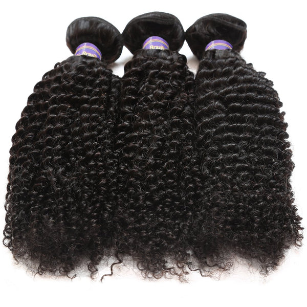 Allove Indian Kinky Curly Hair Cheap Virgin Indian Hair 3pcs/lot
