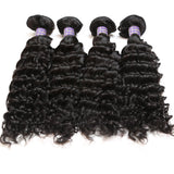 allove brazilian virgin hair deep wave 4 bundles brazilian deep wave hair 100 human hair