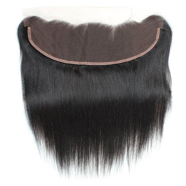 Easy Hair Peruvian Virgin Hair Straight Lace Frontal 13x4 Ear To Ear Closure - Easy Hair