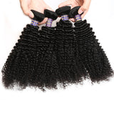 allove hair 4pcs lot malaysian kinky curly virgin hair top unprocessed human hair weave