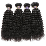 allove peruvian unprocessed virgin kinky curly 4 bundles human hair weave