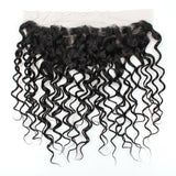Brazilian Virgin Hair Water Wave Lace Frontal 13x4 Ear To Ear Lace Closure
