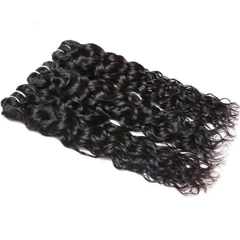 ishow hair indian water wave human hair extensions 3pcs lot