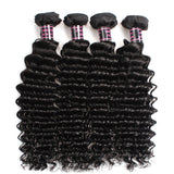 Ishow Hair Brazilian Virgin Deep Wave Hair Bundles 4pcs/lot