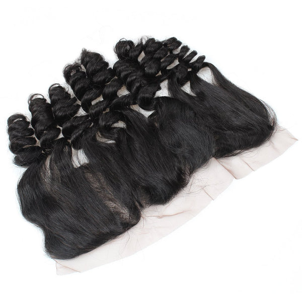 Easy Hair 10A Loose Wave Malaysian Virgin Hair 4 Bundles With 13x4 Lace Frontal Closure - Easy Hair