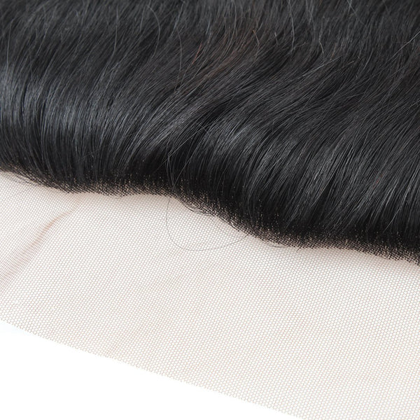 Easy Hair 13*4 Ear To Ear Lace Frontal Indian Virgin Hair Straight Lace Closure - Easy Hair