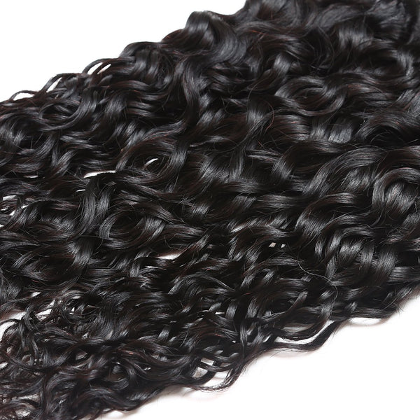 Easy Hair Virgin Human Hair Water Wave Peruvian Hair 4 Bundles - Easy Hair