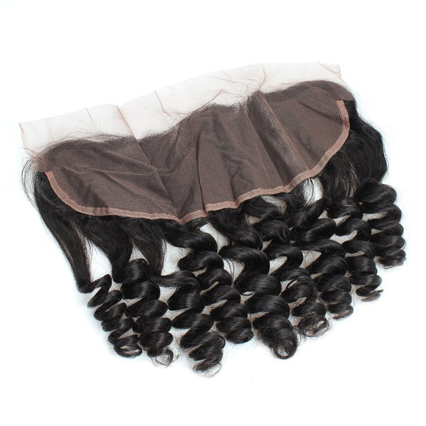 Ishow Unprocessed Malaysian 13x4 Loose Wave Lace Frontal Virgin Human Hair