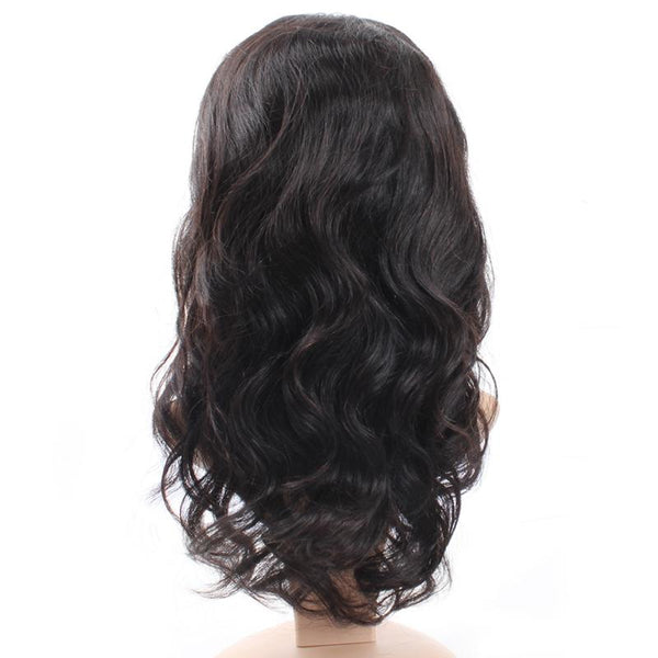 Malaysian Body Wave Virgin Human Hair Lace Front Wigs 1pc/lot - Easy Hair