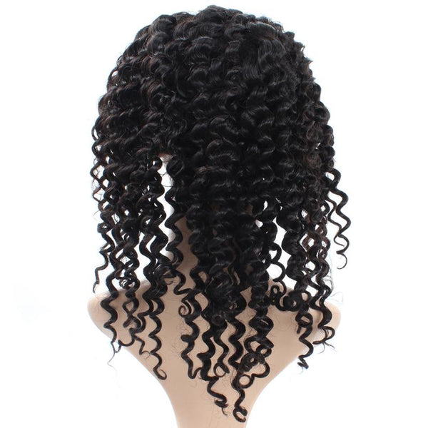 Easy Hair Peruvian Deep Wave Virgin Hair Lace Front Wigs 1pc/lot - Easy Hair