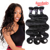 Easy Hair Virgin Human Hair Malaysian Body Wave Hair 3pcs/Lot Natural Color