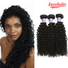Easy Hair 10A Grade Peruvian Unprocessed Virgin Kinky Curly 3 Bundles Human Hair Weave