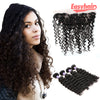 Easy Hair 10A Peruvian Deep Wave Hair 4 Bundles With Lace Frontal Closure