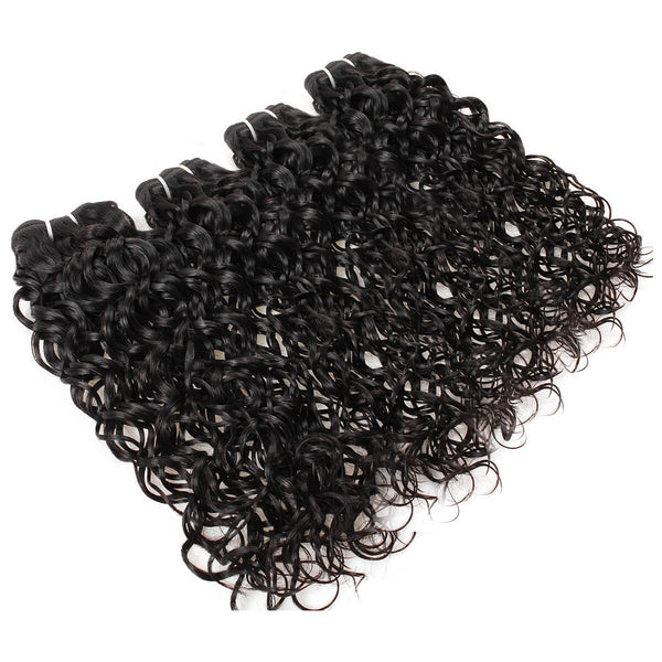 Easy Hair 10A Grade Malaysian Virgin Hair Water Wave Human Hair 4pcs/lot - Easy Hair