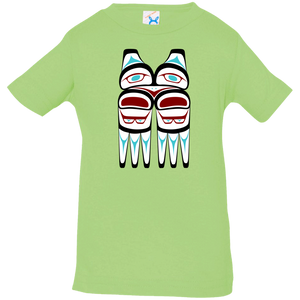 Screeching Owl, Traditional Infant Jersey T-Shirt