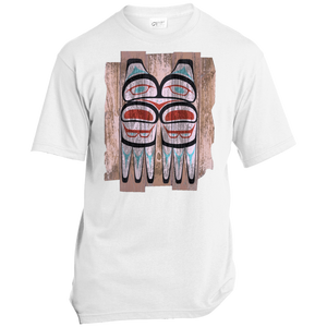 Screeching Owl, Painted Made in the USA Unisex T-Shirt