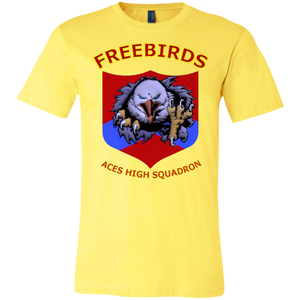 Freebirds, Color Set 2 Canvas Unisex Jersey Short-Sleeve T-Shirt - Indigenous Arts
