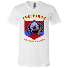 Freebirds Canvas Youth Short Sleeve V-Neck Jersey T-Shirt - Indigenous Arts