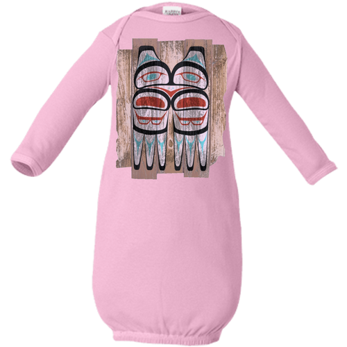 Screeching Owl, Painted Infant Layette - Indigenous Arts