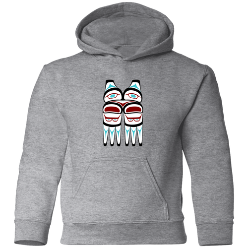 Screeching Owl, Traditional Toddler Pullover Hoodie - Indigenous Arts