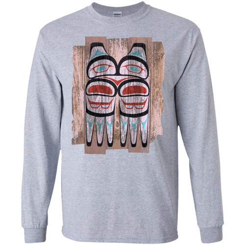 Screeching Owl, Painted LS Ultra Cotton T-Shirt