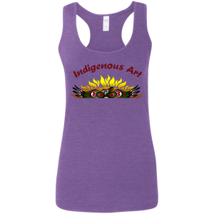 Indigenous Art Ladies' Softstyle Racerback Tank