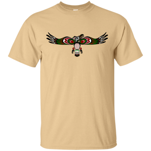 Raven Cotton T-Shirt - Indigenous Arts