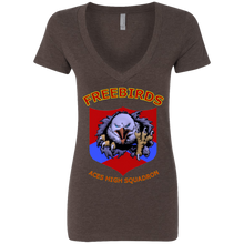 Freebirds Deep V-Neck T-Shirt - Indigenous Arts