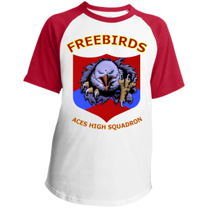 Freebirds Youth SS Colorblock Raglan Jersey - Indigenous Arts