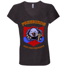 Freebirds Jersey V-Neck T-Shirt - Indigenous Arts