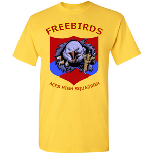 Freebirds, Color Set 3 5.3 oz. T-Shirt - Indigenous Arts