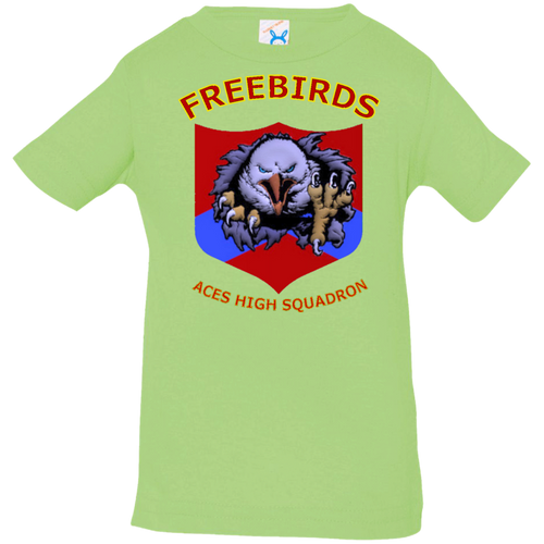 Freebirds Infant Jersey T-Shirt - Indigenous Arts