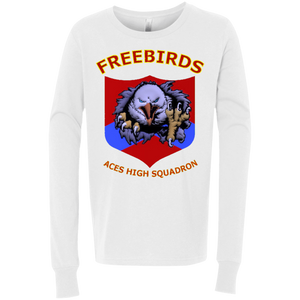 Freebirds Youth Jersey LS T-Shirt - Indigenous Arts