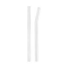 Load image into Gallery viewer, Glass Smoothie Straw (12 mm Diameter)