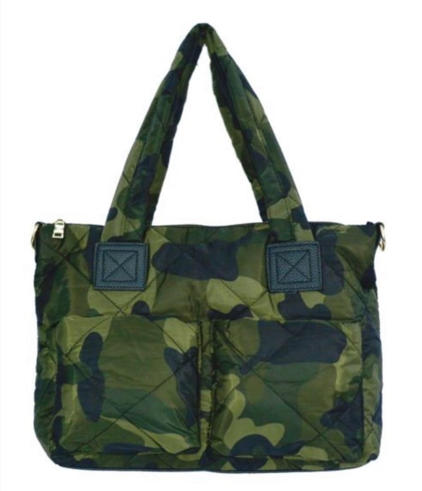Puffy Double Pocket Camo