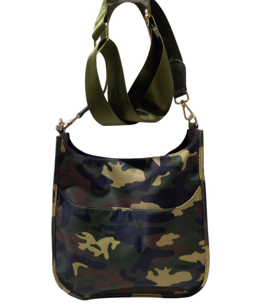 Nylon Camo Messenger