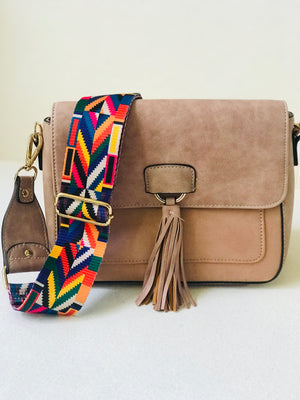Vegan Leather Tassel Bag 50%n Off
