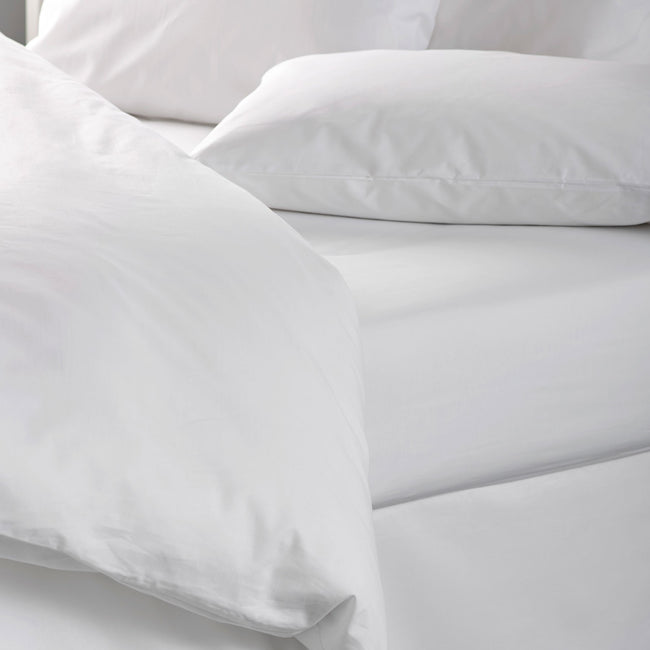 Arona Plain Sateen Flat Bed Sheets (12 pack) - Liddell USA