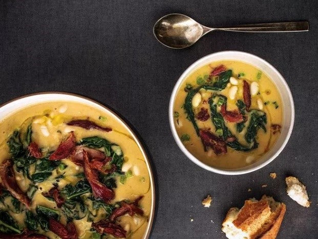 White Bean and Tuscan Kale Soup