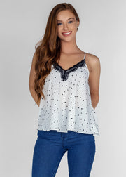 Heart and Lace Cami
