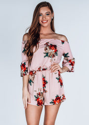 """Smell the Roses"" Romper"