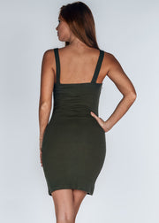 Sweet Attitude Dress- Green