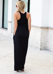 Summer Comfort Dress Black