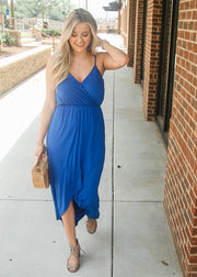 Caribbean Days Dress-Blue