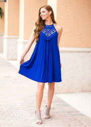 """Southern Belle"" Dress- Blue"