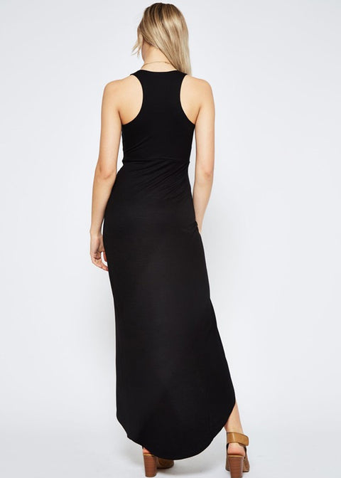 Wrap Me Up Maxi- Black